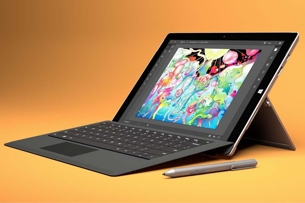 Surface Pro 3 คือ แท็บเล็ตที่สามารถใช้งานได้เหมือนโน้ตบุ๊ก