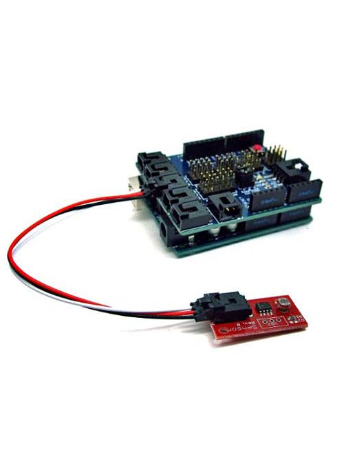 การเชื่อมต่อ LDR บนบอร์ดเข้ากับ Arduino