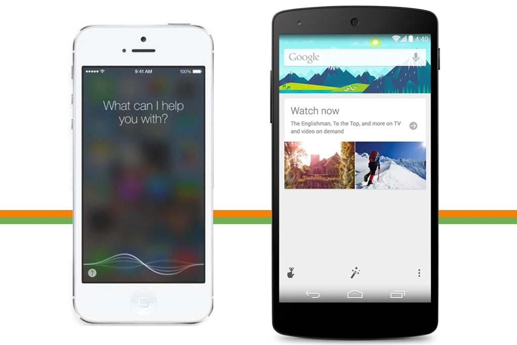 Apple Siri และ Google Now  ผู้ช่วยดิจิทัลที่ได้รับความนิยมมาก