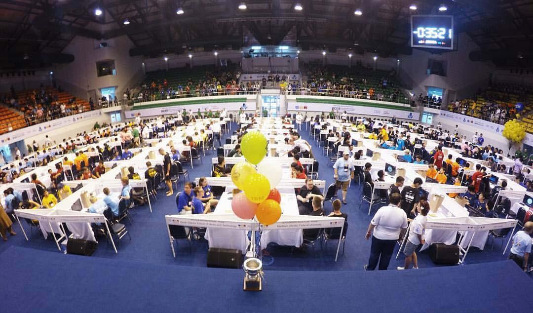 บรรยากาศการแข่งขัน ACM-ICPC World Finals 2016 (2)