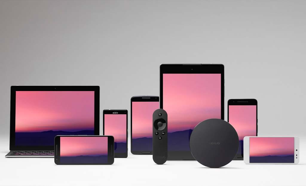จุดเด่นของ Android คือใช้ได้กับหลายอุปกรณ์